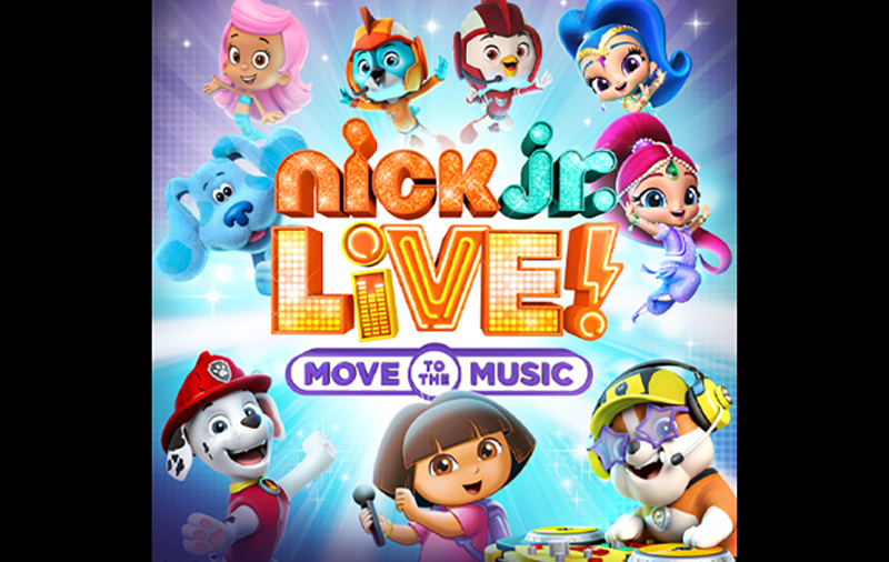 Nick Jr Live Move To The Music Tour Tbd Productions